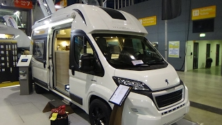 2017 Voyager ZS Peugeot Maxi - Exterior And Interior - Caravan Show CMT Stuttgart 2017