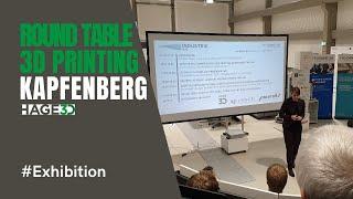 HAGE3D beim Roundtable zum Thema Additive Fertigung in Industrie & Forschung an der FH Kapfenberg