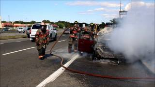 Blue Point Fire Department - Vehicle Fire / August 28, 2015