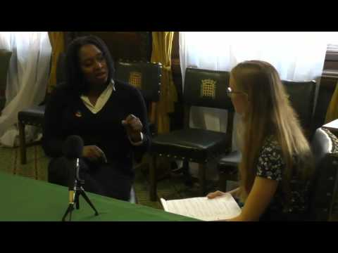 Abby Tomlinson Interviews Dawn Butler MP