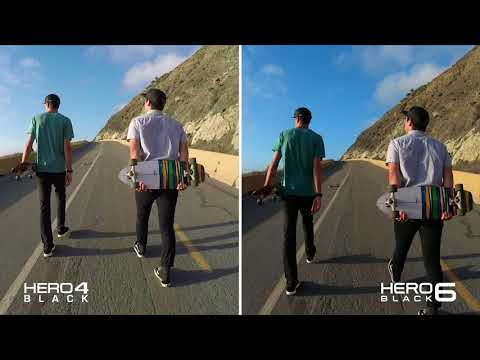 GoPro HERO4 vs GoPro HERO6