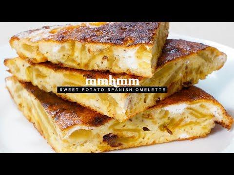 Sweet Potato Spanish Omelette | Mmhmm