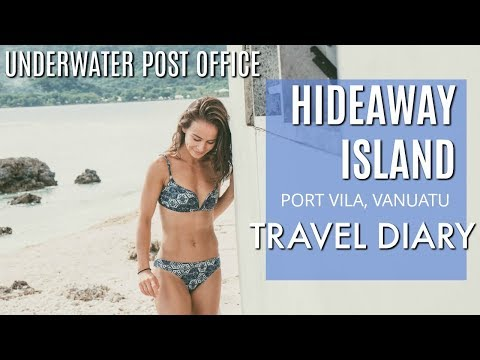 HIDEAWAY ISLAND + UNDERWATER POST OFFICE   TRAVEL DIARY + VLOG