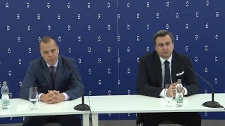The Meeting of Secretaries-General of the European Union Parliaments press conference | PD SK PRES