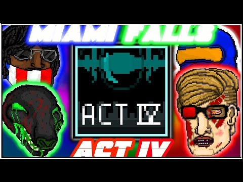 Miami Falls - Final Act | Hotline Miami 2: Wrong Number Level Editor [FULL CAMPAIGN]