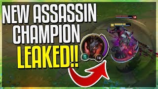 NEW ASSASSIN CHAMP LEAKED!! RHAAST & KAYN GAMEPLAY!! 3 Transformations - League of Legends