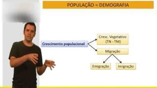 Geografia - Demografia - Vídeo Aula Concurso 2014