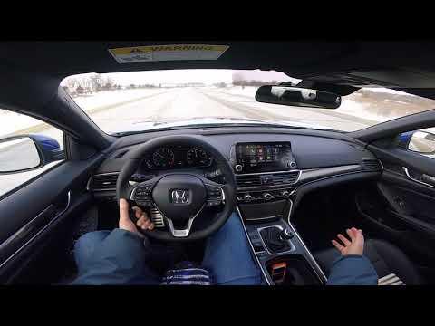 First Drive!! 2018 Honda Accord Sport 2.0T 6MT