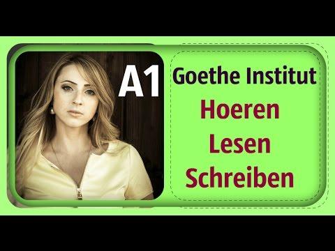 Deutsch Goethe Institut A1