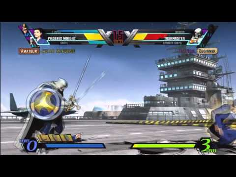 Ultimate Marvel vs Capcom 3 Gameplay and Commentary |