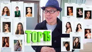 TOP 15! Miss World 2018 Early Favourites.