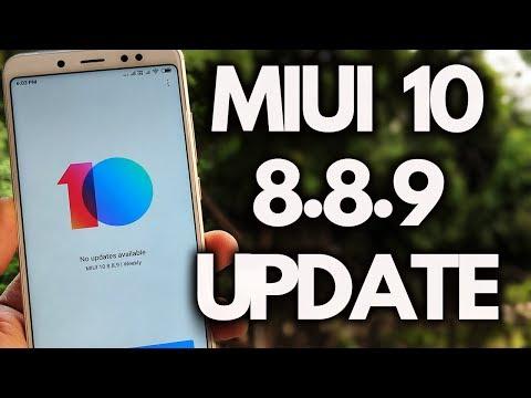 MIUI 10 8.8.9 Redmi Note 5 Pro & Other XIAOMI Phones