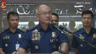 Albayalde: Good moral character needed to keep security escorts