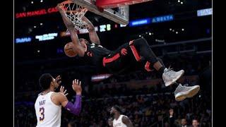 Ibaka's career-high 34 sends Raptors past Lakers