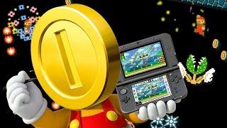LAS 50 MONEDAS MALDITAS de MARIO MAKER 3DS | Desafio Super Mario