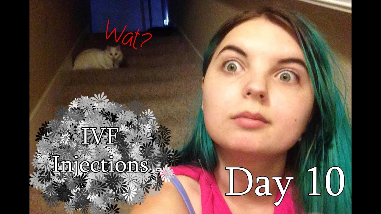 IVF Vlog Day 10 - Egg Retrieval Info, Trigger Shot Plans, and Follicles