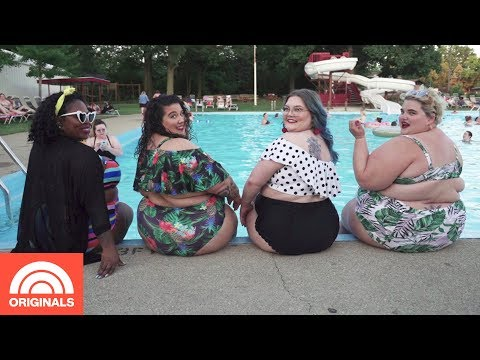 Plus Size Pool Party Promotes Body Positivity For All | TODAY Originals
