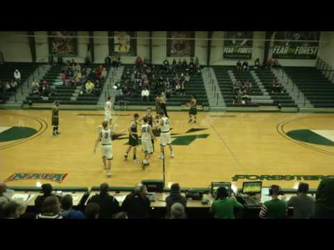 HU Men's Basketball vs. Wright State University - Lake (OH) -- 12/17/16