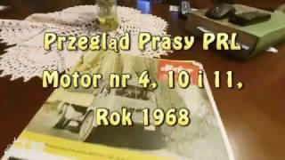Przegląd Prasy Prl #7. Motor 4, 10 I 11, 1971