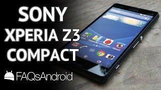 Sony Xperia Z3 Compact: análisis a fondo
