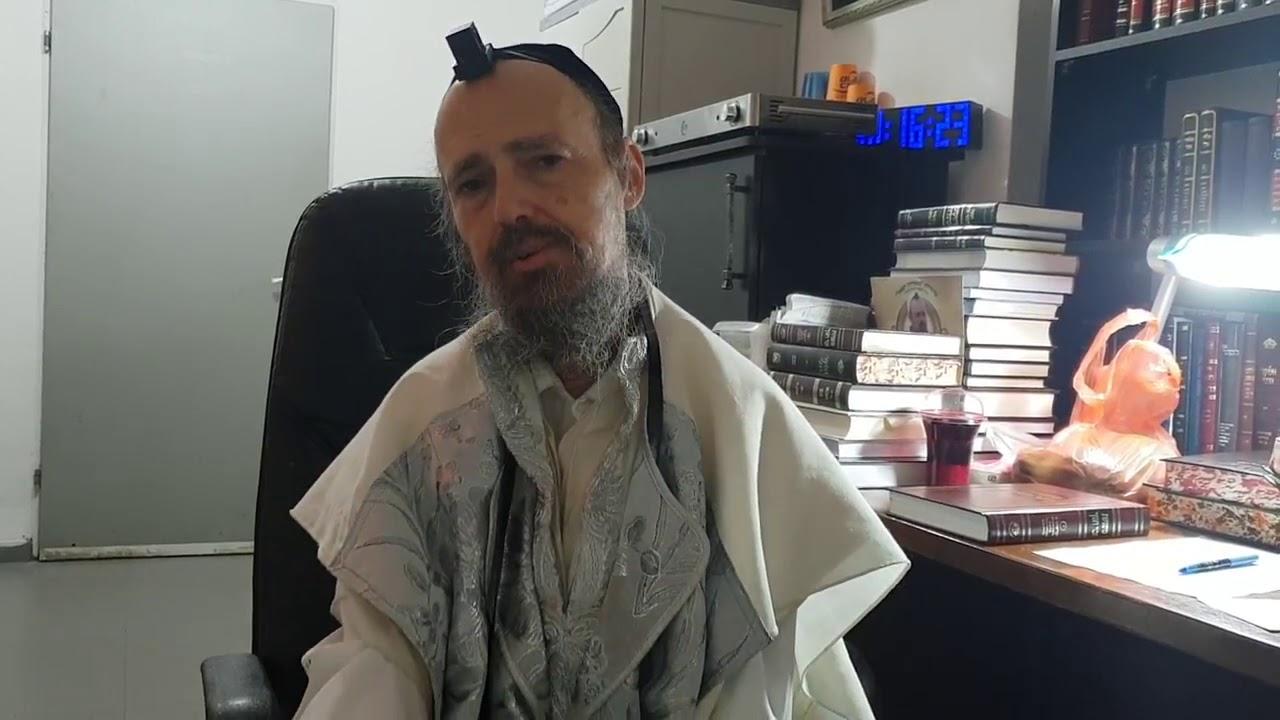 """הרב דב קוק במחאה על חילולי השבת ע""""י רון קובי"""