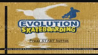 Evolution Skateboarding PS2