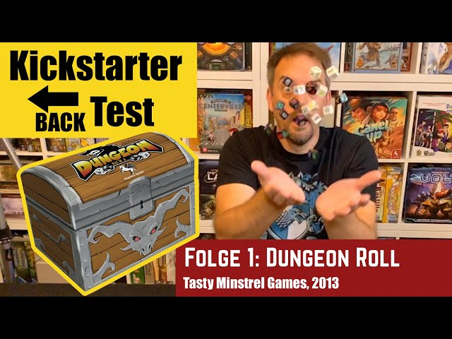 Kickstarter Backtest - Folge 1: Dungeon Roll