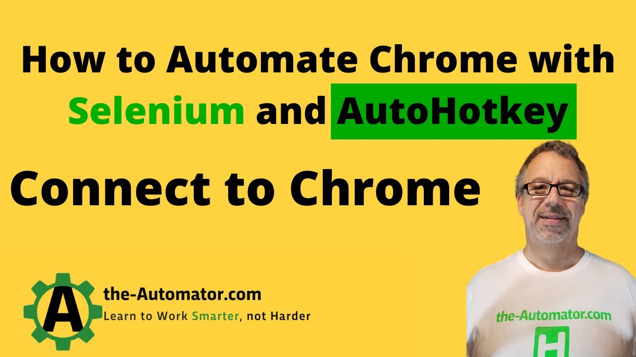 Cross browser web scraping with AutoHotkey and Selenium – Automating