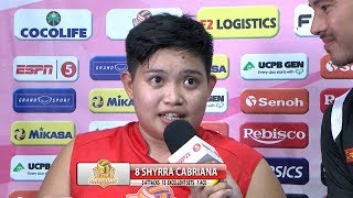 Match MVP: Shyrra Cabriana | Chooks-to-Go PSL Grand Prix 2017