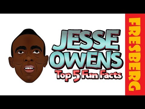 """Was he J.C. or Jesse? Find out here with, """"Jesse Owens Fun Factsfor Kids."""""""