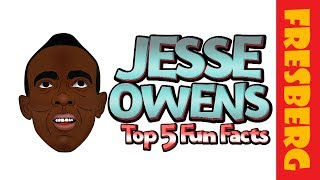 "Was he J.C. or Jesse and who is Jesse Owens? Find out with, ""Jesse Owens Fun Facts for Students"""