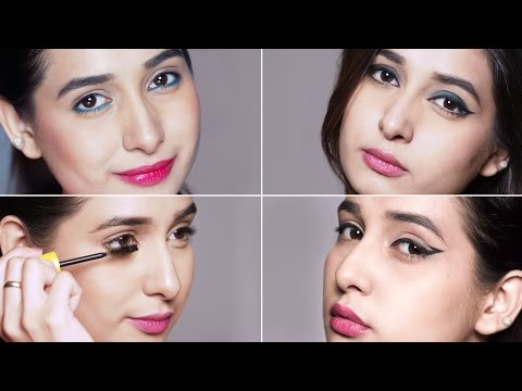 Beginner's Guide To Using KAJAL and MASCARA - Eye Makeup Tips and Tricks by Glamrs.com