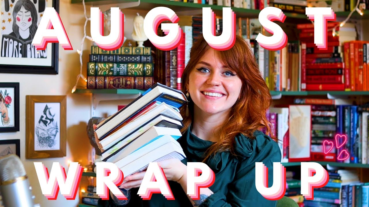 august wrap up 💕 rereads, romances and 11 books [cc]