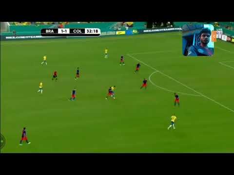 Brasil Vs Colombia Live