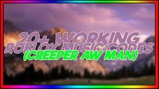 *SEPTEMBER* 20+ ROBLOX Music Codes/IDS(CREEPER AW MAN!)
