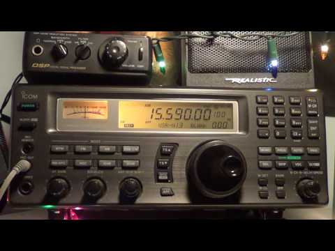 Radio Thailand english 0000 UT 15590 Khz Shortwave