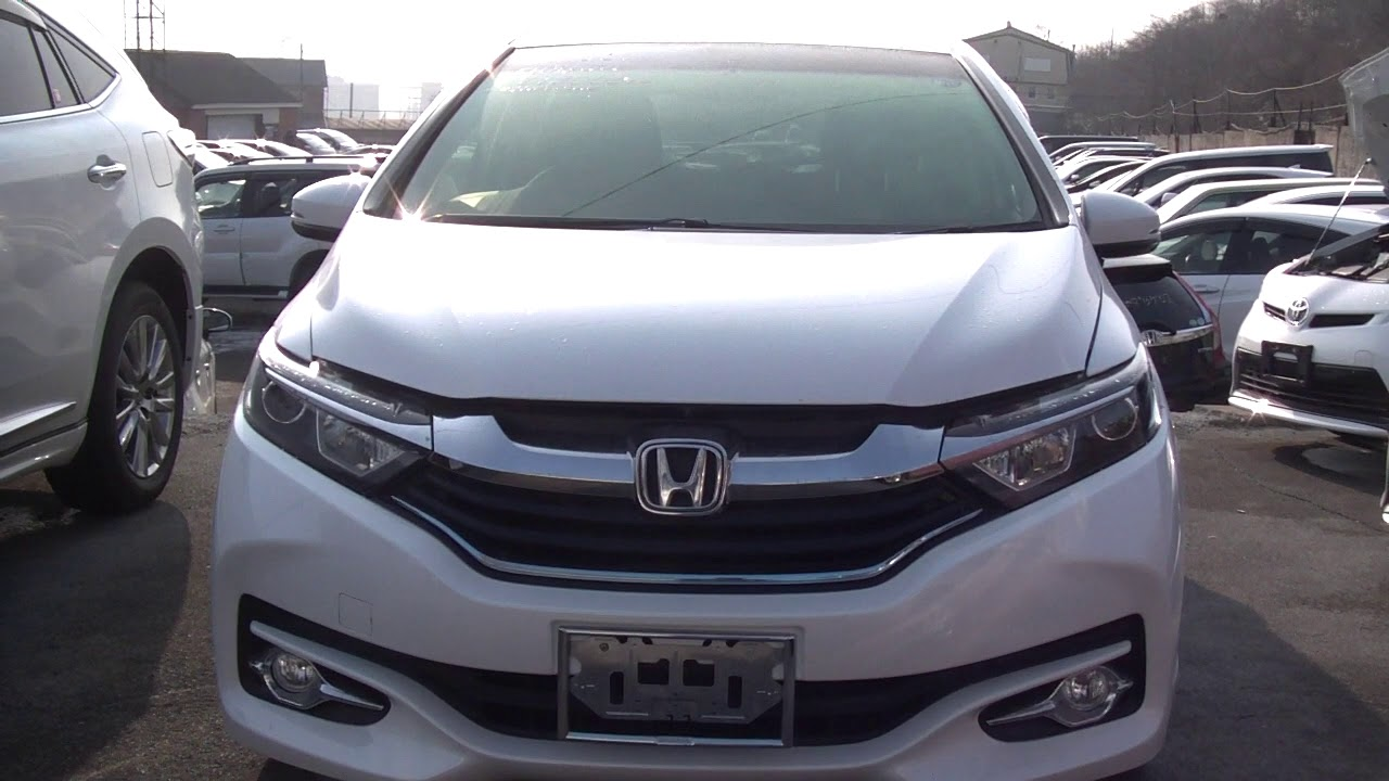 2015 г Honda Shuttle Hybrid - YouTube
