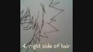 How To Draw Tsuna Sawada Line Art