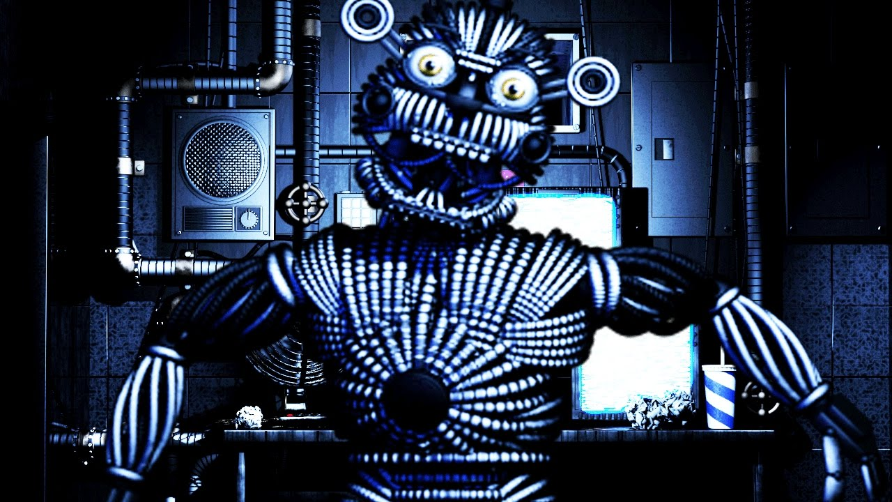 Five nights at freddys sister location new version of funtime five nights at freddys sister location new version of funtime freddy found hidden animatronic youtube sciox Choice Image
