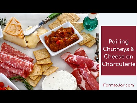 Low carb cheese plates and charcuterie with chutney pairing