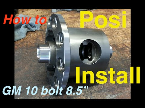 "GM 10 Bolt 8.5"" Posi Install ""How To"" Chevy C10 Truck - Eaton Truetrac"