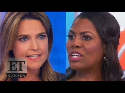 Omarosa Tells Savannah Guthrie To 'Calm Down'