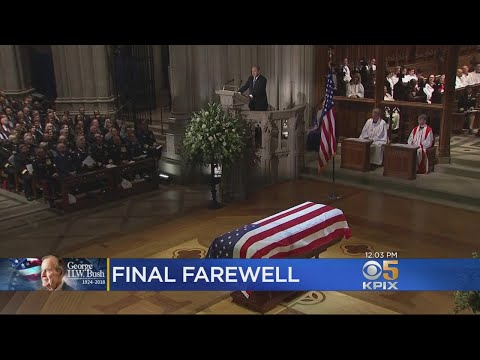 Former President George H.W. Bush Honored In State Funeral