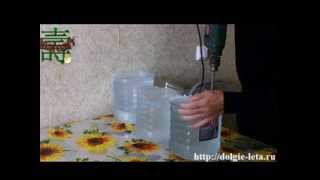 Полный видеокурс очищения воды методом замораживания, от солей и тяжелой воды