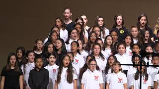 PUSD All-District Choral Festival, 2018