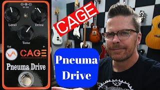 Cage Pneuma Drive OverDrive Pedal Demo by Shawn Tubbs