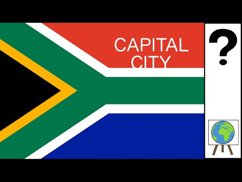 South Africa's Capital City System Explained