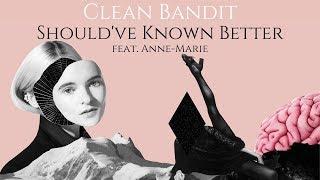 【和訳】Clean Bandit - Should've Known Better ft. Anne-Marie