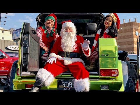 #RDBLA Christmas Toy Drive, Santa's 4x4 Sleigh and more!