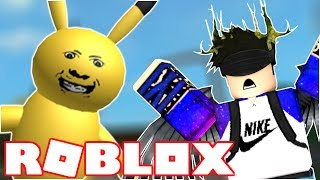 PIKACHU EATS PEOPLE?!?!? | Roblox A Very Hungry Pikachu